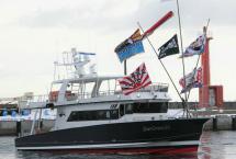 2020年1月に完成した観光船です。